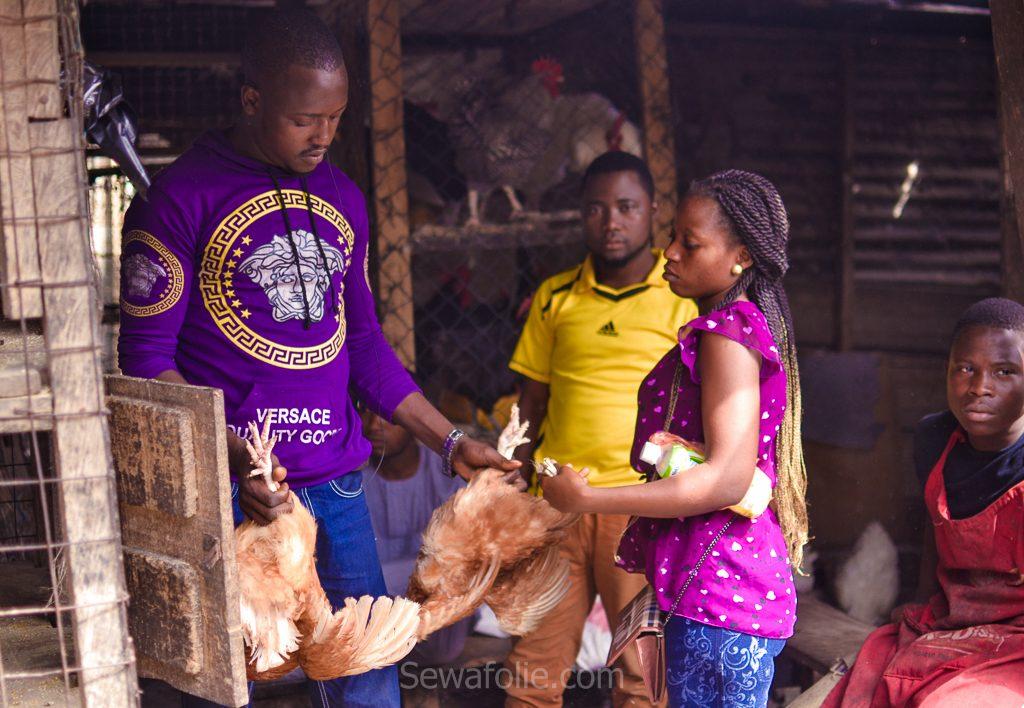 FESTAC Lagos market