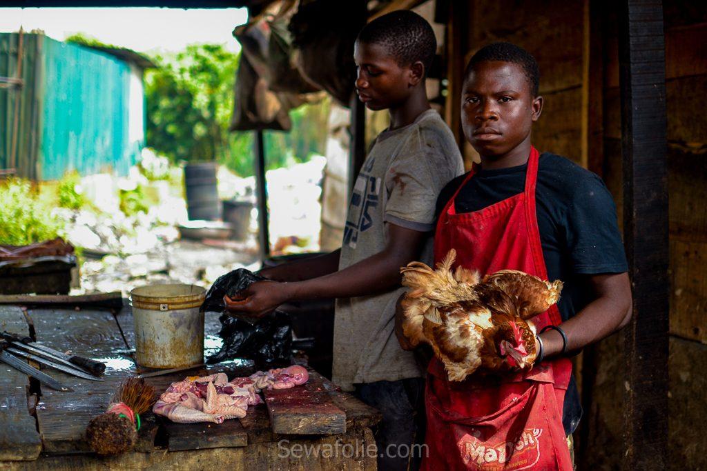 Lagos market FESTAC