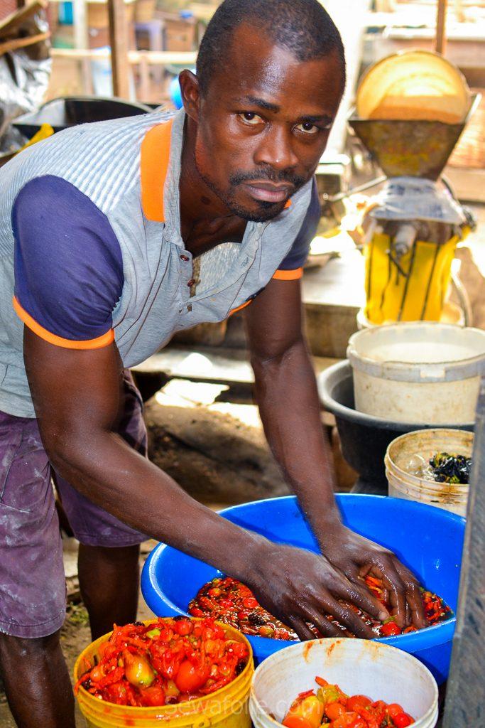 Lagos market nigeria