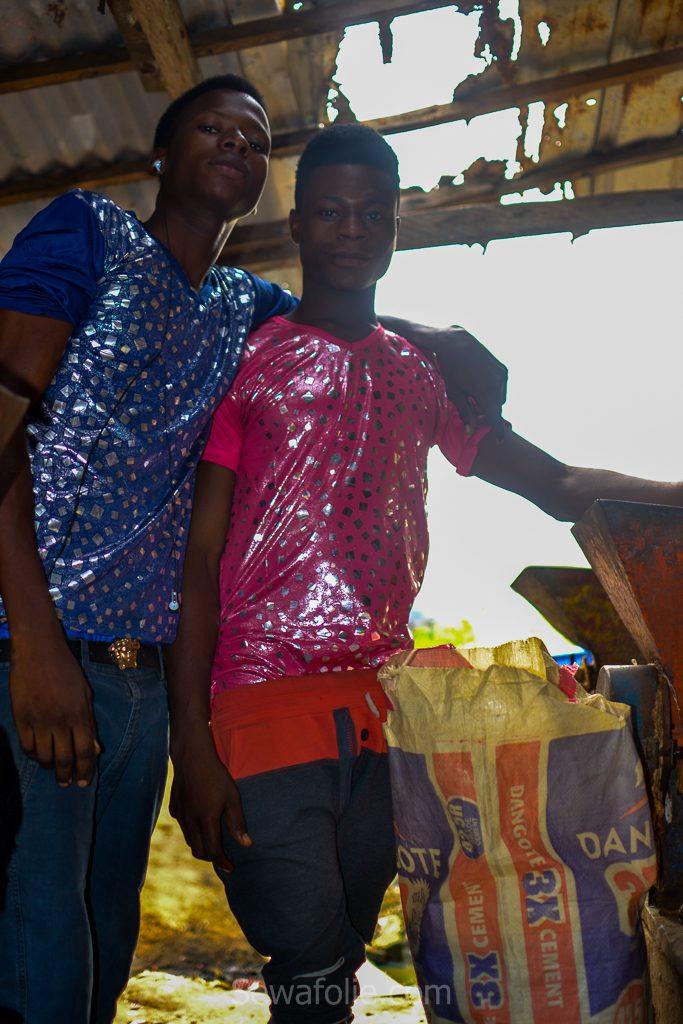 African Lagos market