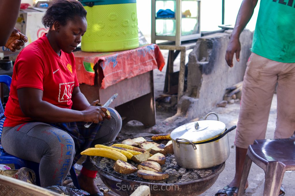 Lagos market woman