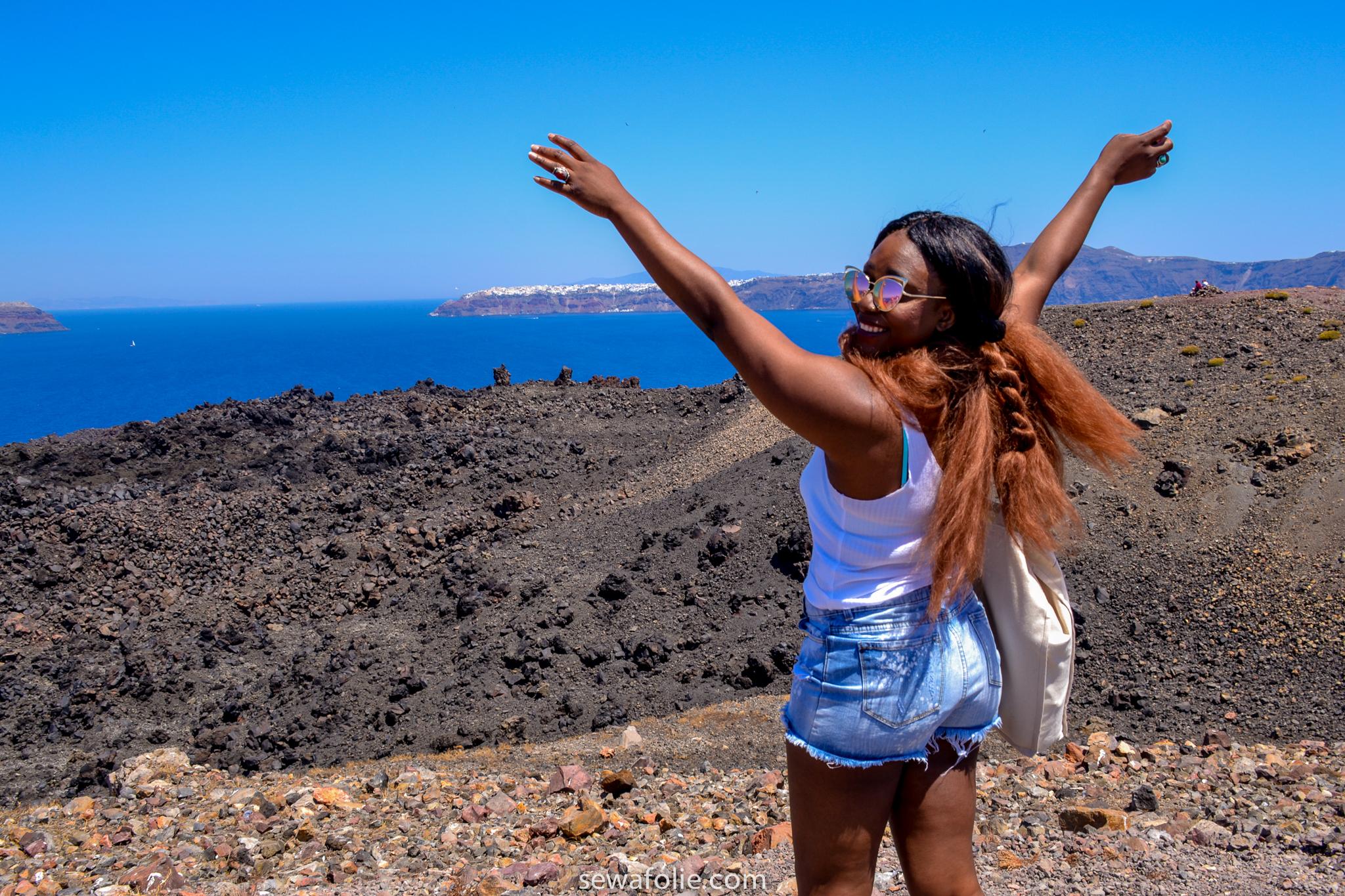 santorini Cyclades island