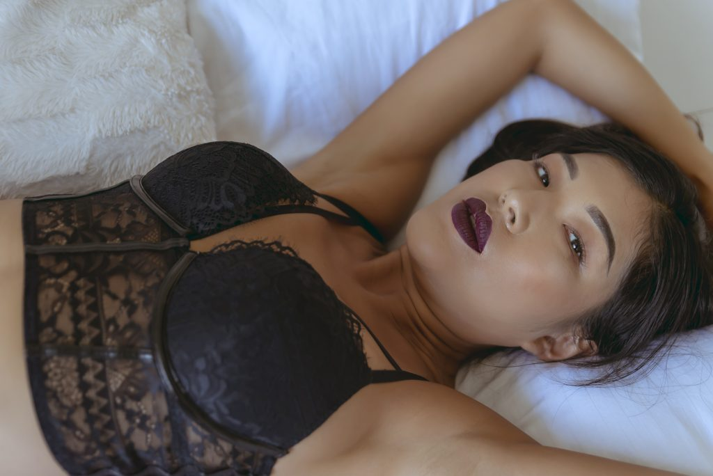 Black London boudoir photographer