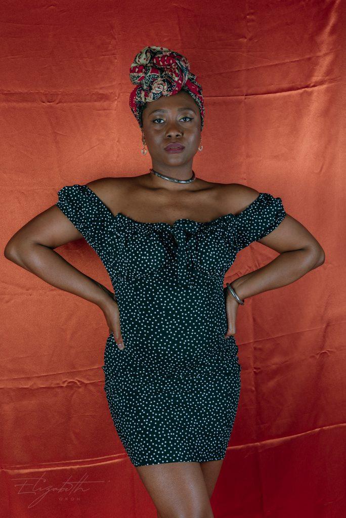 femme luxe bardot dress